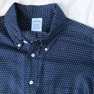 Supima Cotton BROOKS BROS Polka Dot LS